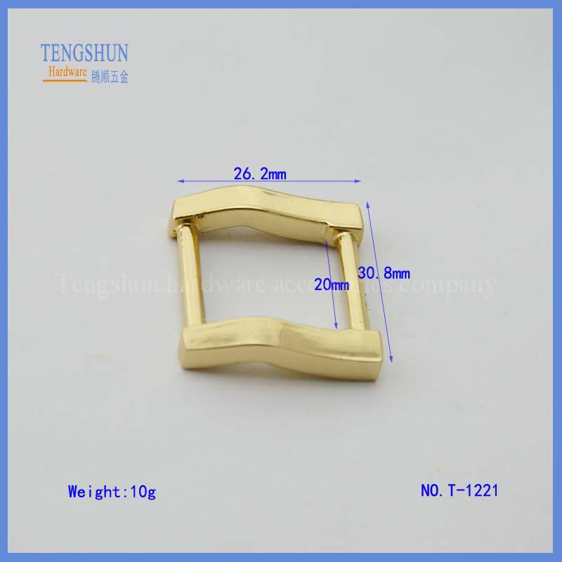 Квадратная пряжка из цинкового сплава для сумок от китайского производителя