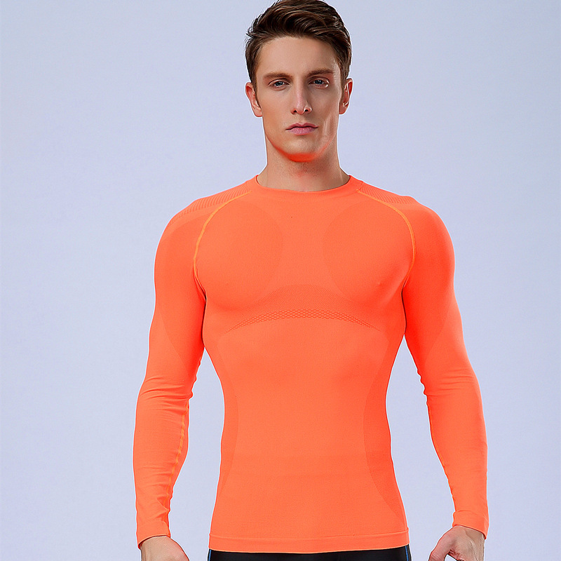 Men Sport Compression Shirt Base Layer Tights Quick Dry ...