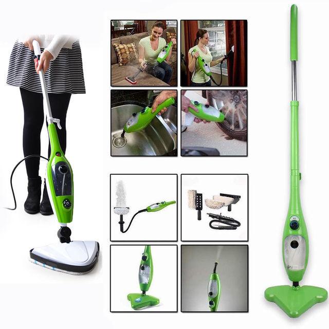 acheter famille 10 en 1 steam mop nettoyeur vapeur tapis de sol vapeur balayeuse. Black Bedroom Furniture Sets. Home Design Ideas
