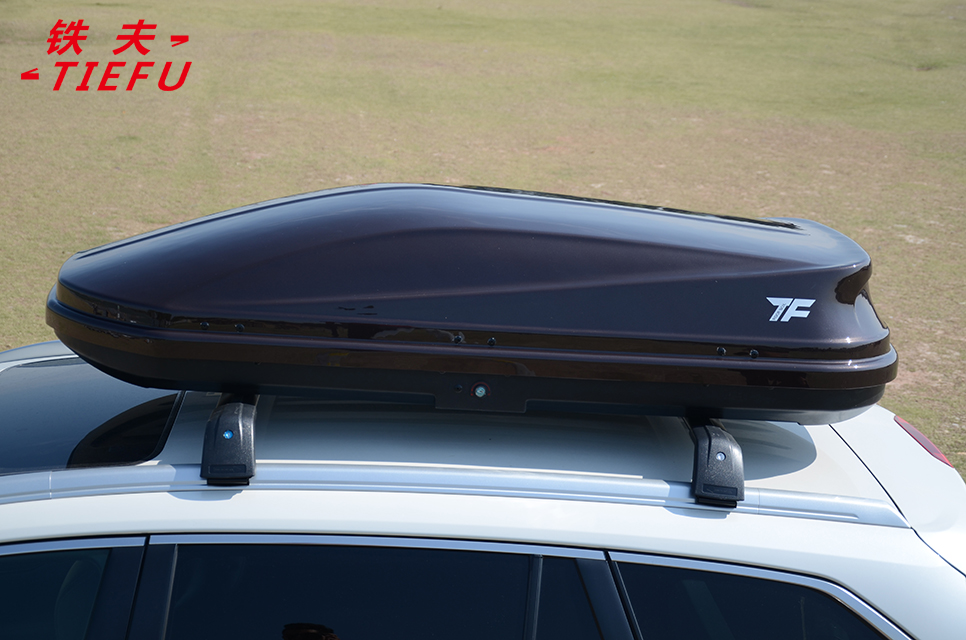 rooftop rack luggage carrier ROOF CARGO BOX Black Roof Cargo Box
