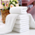 Hot Sale White Hotel Bath Body 100% Cotton Towel Set