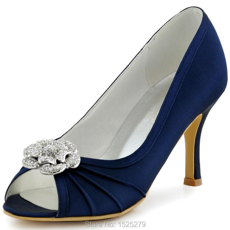 Aliexpress.com : Buy EP2094AF Navy Blue Teal Women Bride