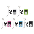 Running sport Metal Mini Clip MP3 Player With display Screen ,Mp3 Music player for mobile phone with headset