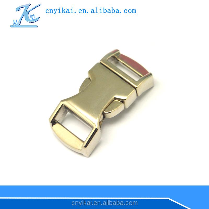 Gurtschnalle 10mm Metall Schnalle für Rucksack Gürtel Riemen Gurt