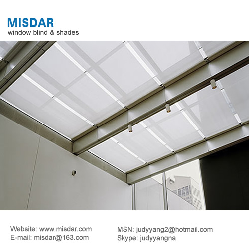 Roof Skylight Shade Skylight Blind Motorized Skylight Blinds View Roof Skylight Shade Misdar Product Details From Guangzhou Misdar Shade Co Ltd On Alibaba Com