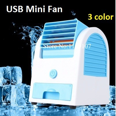 new 2015 usb mini fan bladeless fan portable air conditioner battery usb table fan mini. Black Bedroom Furniture Sets. Home Design Ideas