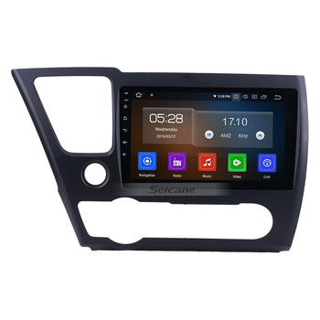 9 Inch Android 9.0 Car DVD Player for Honda Civic (LHD) American Version 2014 2015 2016 2017 Car Stereo with TV BT USB