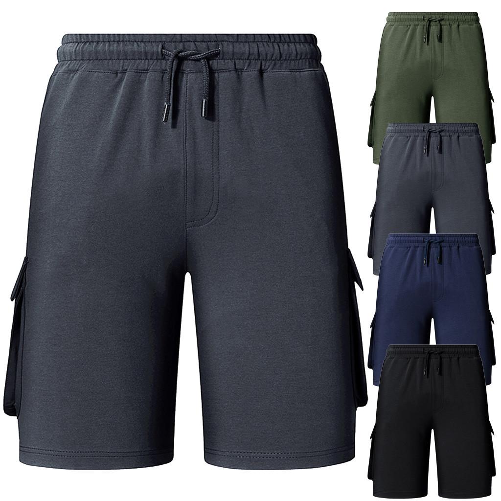scarpe di separazione 8169f d0f58 2019 Fashion Short Masculino Men'S Plain Color Sports Shorts Home Pants  Pantaloni Corti Uomo Mens Casual Shorts Kurze Hosen Herren From Clothfirst,  ...