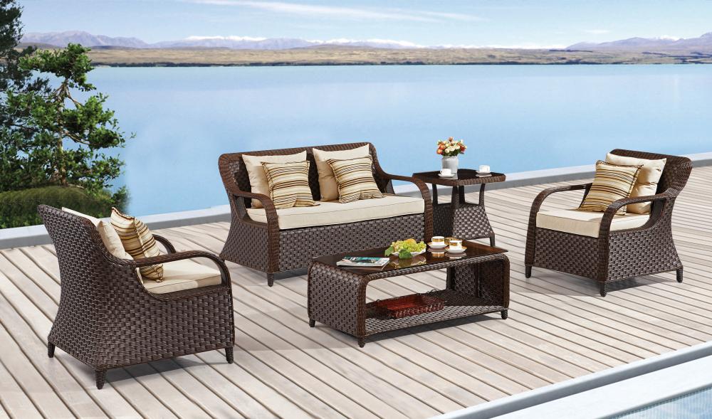 Garden Rattan Furniture cheap rattan outdoor sofa