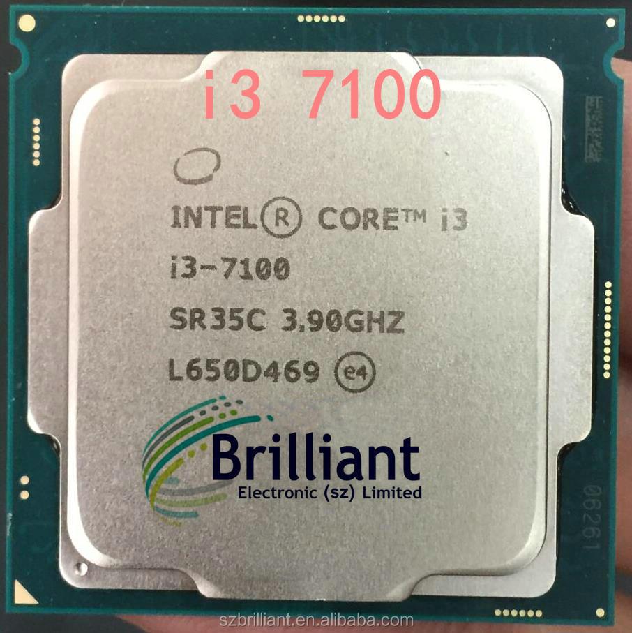 Intel Core I3 7 Series Processor I3 7100 I3 7100 Cpu Lga 1151 Buy E5 2673 V3 3 5g Fclga2011 3 Product On Alibaba Com