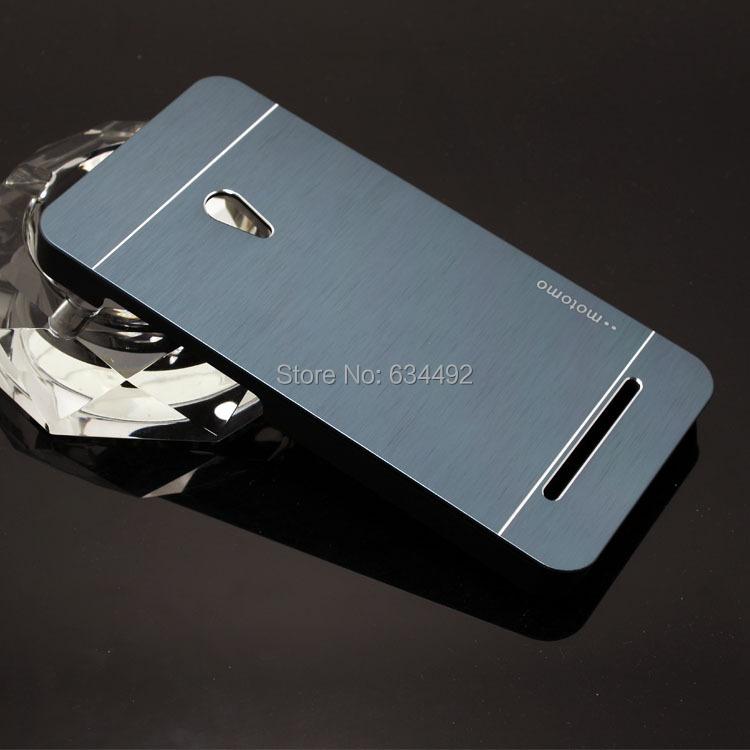 new styles 3a4a4 d7629 Wholesale-Motomo Luxury Metal Brush Hard Case for Asus Zenfone 5 A501CG  Aluminum Back Cover Capa Celular