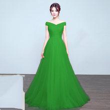 It's Yiiya Элегантные платья невесты Длинные свадебные вечерние платья размера плюс Королевское синее платье подружки невесты платье из тюля ...(China)
