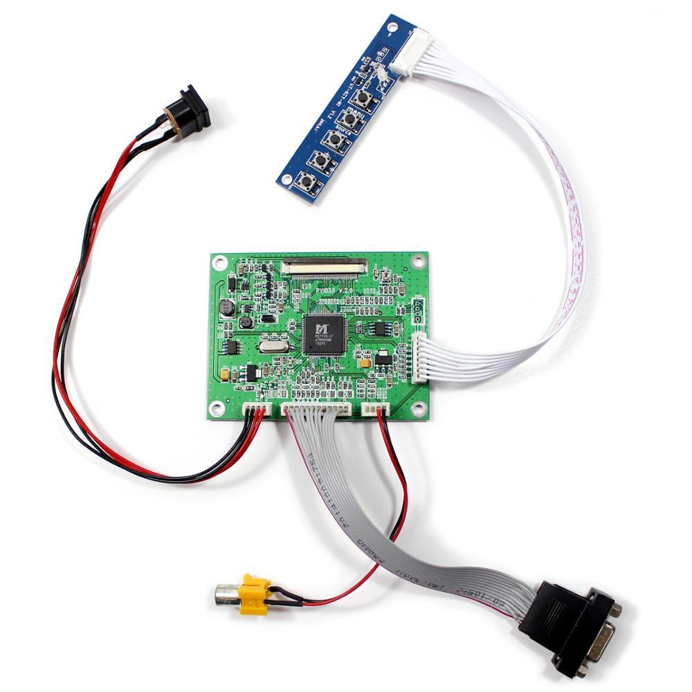 Плата контроллера VGA,AV lcd для 3,5 дюймового 640x480 tft