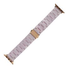 Новый стильный цветной светильник, полимерный браслет для Apple Watch, ремешок серии 5 4 3 2 1 для мужчин/женщин, ремешок для Apple iWatch 40/44/38/42 мм(China)
