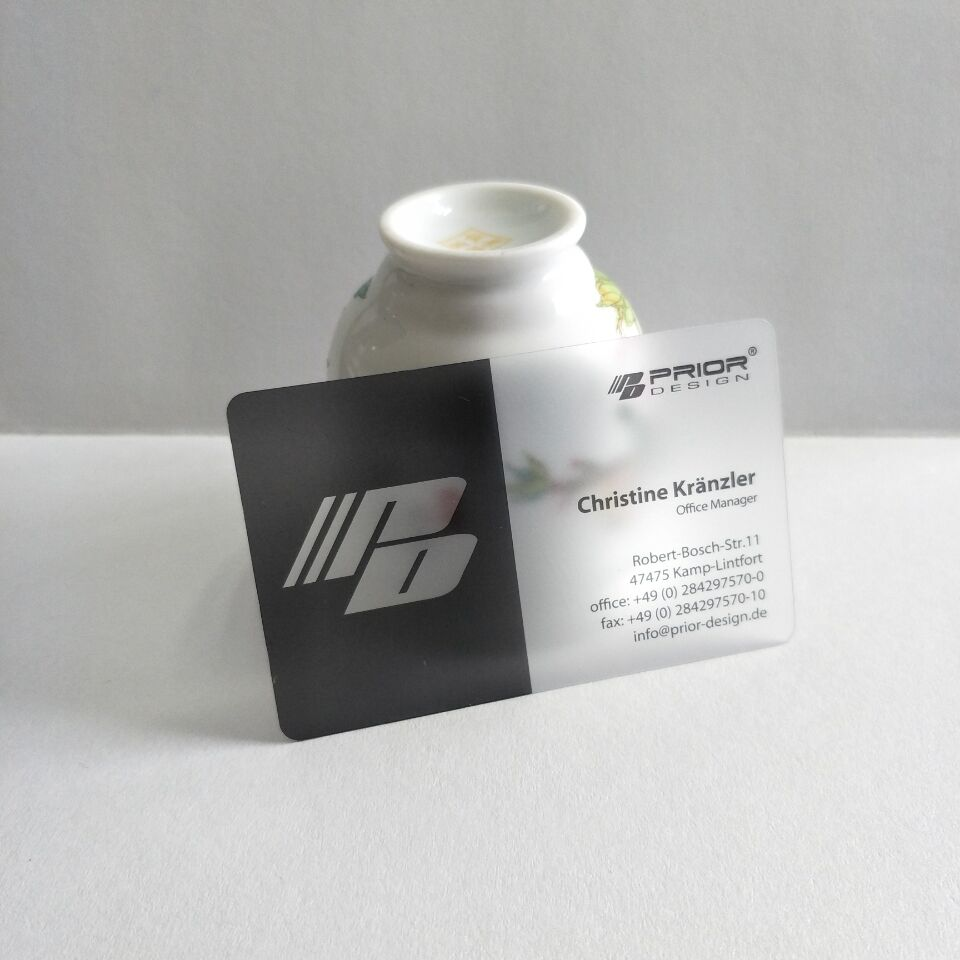 Printing Plastic Business Cards