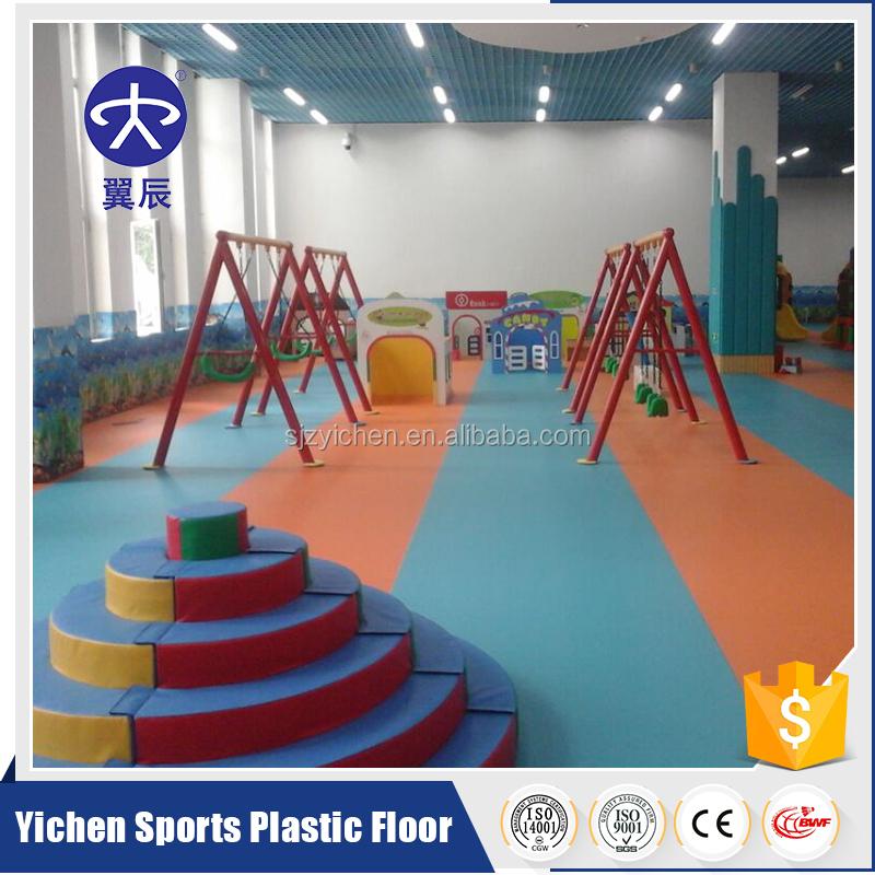 Vinyl raw material indoor volleyball PVC Floor