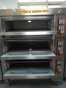 Electric Homemade Toast Loaf Bakery Oven Industrial Oven For Bread