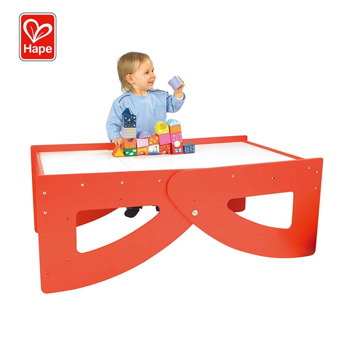 4 в 1 обучающая игрушка-робот, деревянные детские детский столик набор