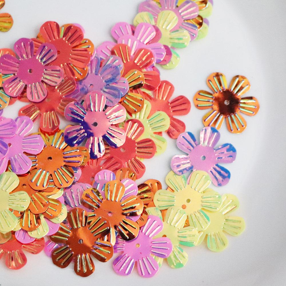 Пайетки с верхним отверстием 10 мм, металлические белые блестки, плоские круглые металлические свободные блестки, украшение с боковым отверстием, белые AB конфетти