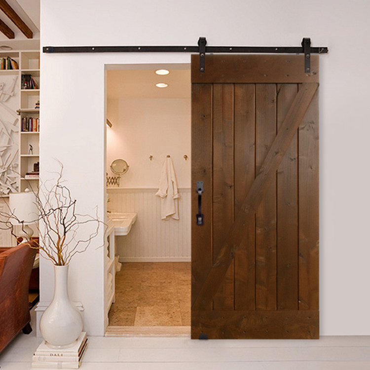 Home Luxury Interior Solid Wooden Barn Sliding Door For Bathroom And Living Room Buy Sliding Door For Toilet Sliding Door For Living Room Sliding Barn Door For Bedroom Product On Alibaba Com