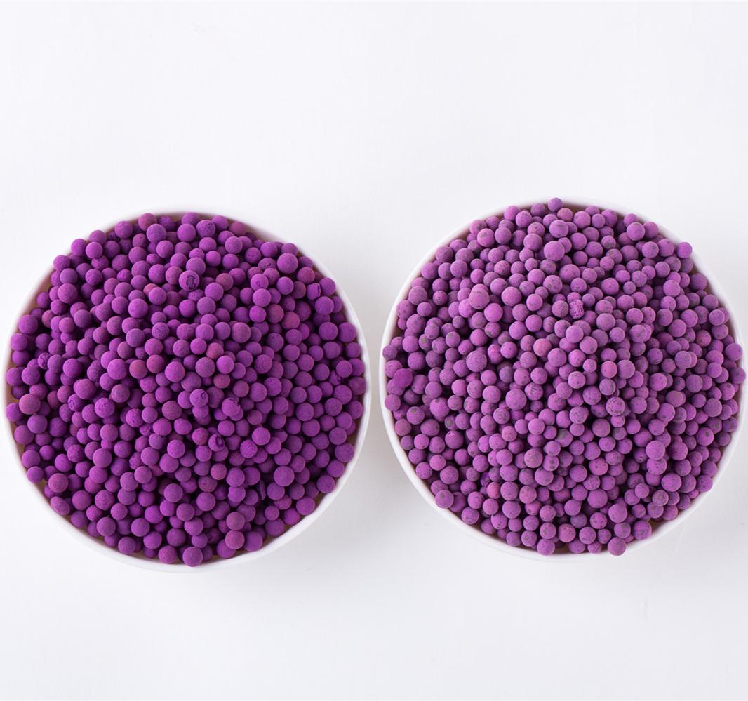 active sodium permanganate ball for air purification