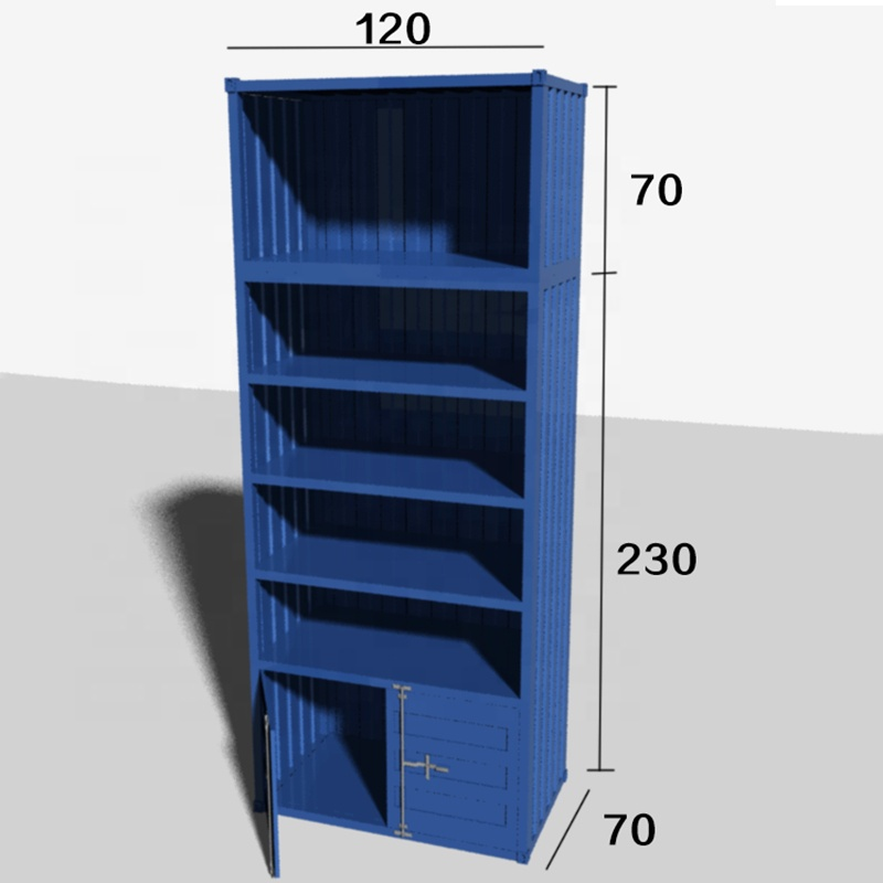 BUYING SHOW Begium industrail style cinema container furniture custom-made order