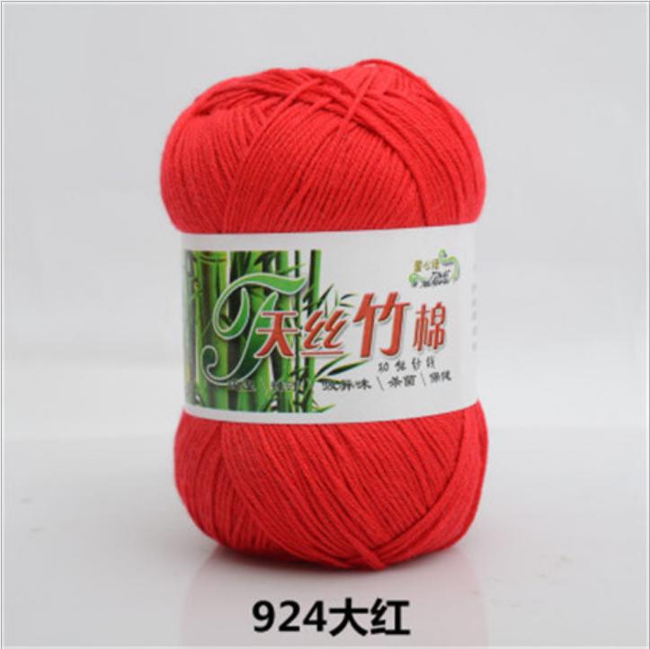 china hot sale dyed pattern bamboo cotton blended yarn Bamboo Cotton Thread Bamboo Yarn