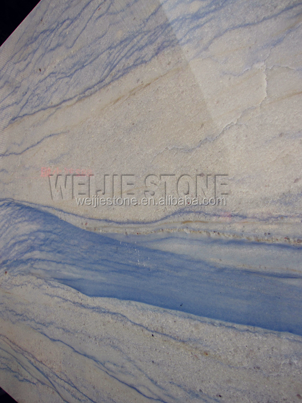 White With Blue Vein Stone For Decorative Walls Natural