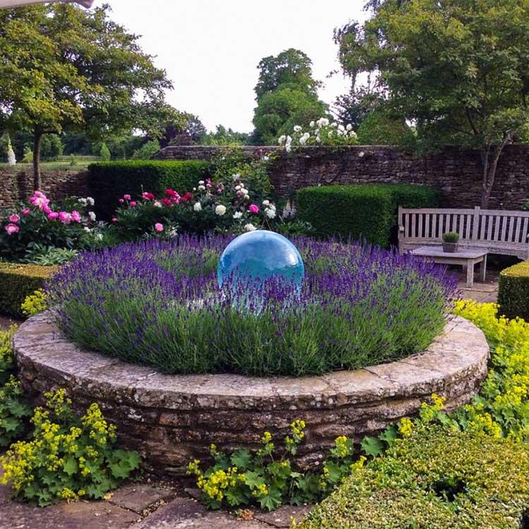 Luxury outdoor waterfall big outdoor water garden fountain
