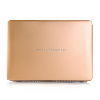 Computer accessories Gold laptop case Hard protective shell for macbook air pro retina 13