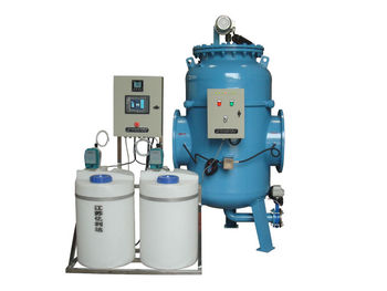 Physicochemical comprehensive water processor for central heating in the residential district
