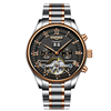 Black Dial Two-Tone pink gold case