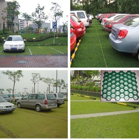 plastic driveway paver/grass protection paver/plastic gravel grid