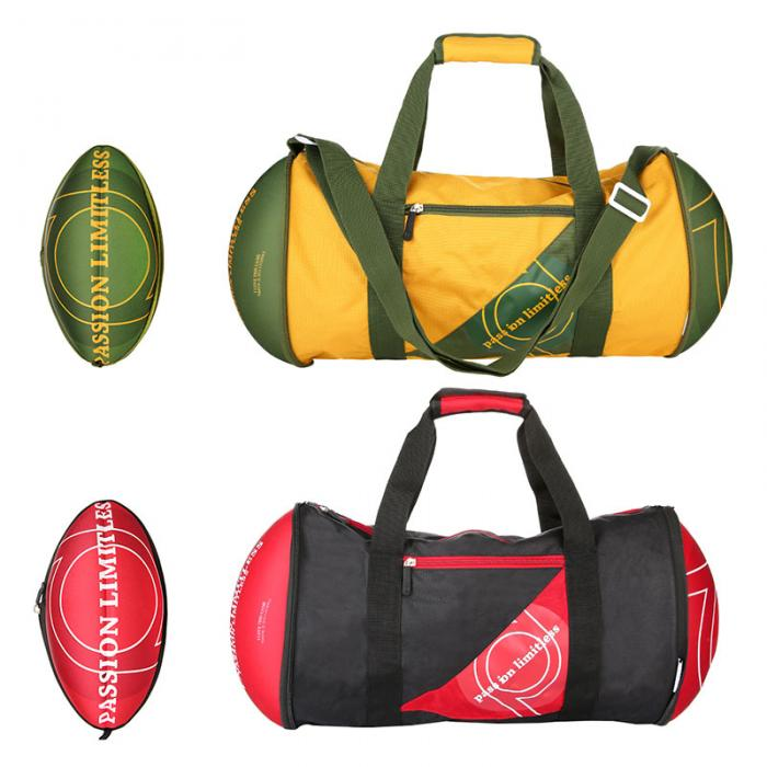f1abfc27f5 Newly Unisex Soccer Ball hape Gym Duffel Bag for Home Outdoor Sport Travel  Vacation