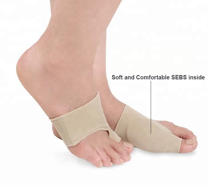 Силикон лайкра корректор большого пальца ноги выпрямитель вальгусные носки