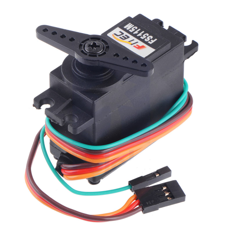 FEETECH 15 кг высокий крутящий момент сервопривода FS5115M-FB с обратной связи DS сервопривода для детей до 20 кг по самой низкой цене, 25 кг для RC робот RC автомобиль