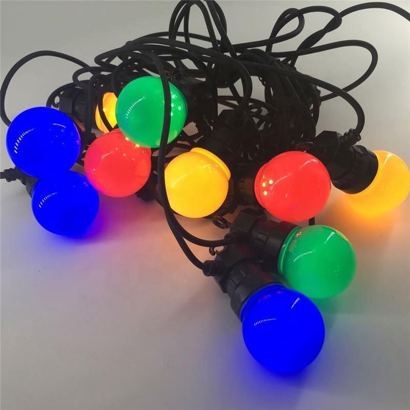 Гирлянда, 100 м, наружная гирлянда с Ip44led, цветная гирлянда G50 с круглыми углами, Сказочная гирлянда, Рождественские огни, товары для мероприятий и вечеринок
