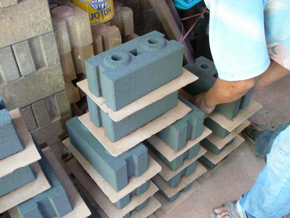 Qmr2 40 Soil Cement Block Making Machine Interlocking