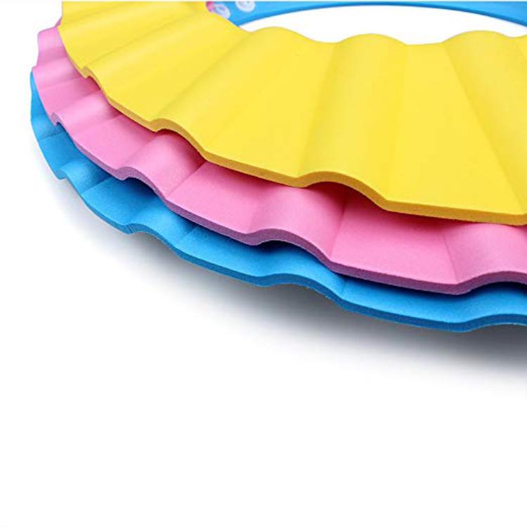 A313 EVA пены водонепроницаемый детская шапочка для душа