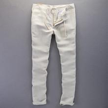 2016 New Fashion Casual Male linen pants men Brand Sweatpants straight Outdoor Men Pants long Trousers Men Clothing wholesale