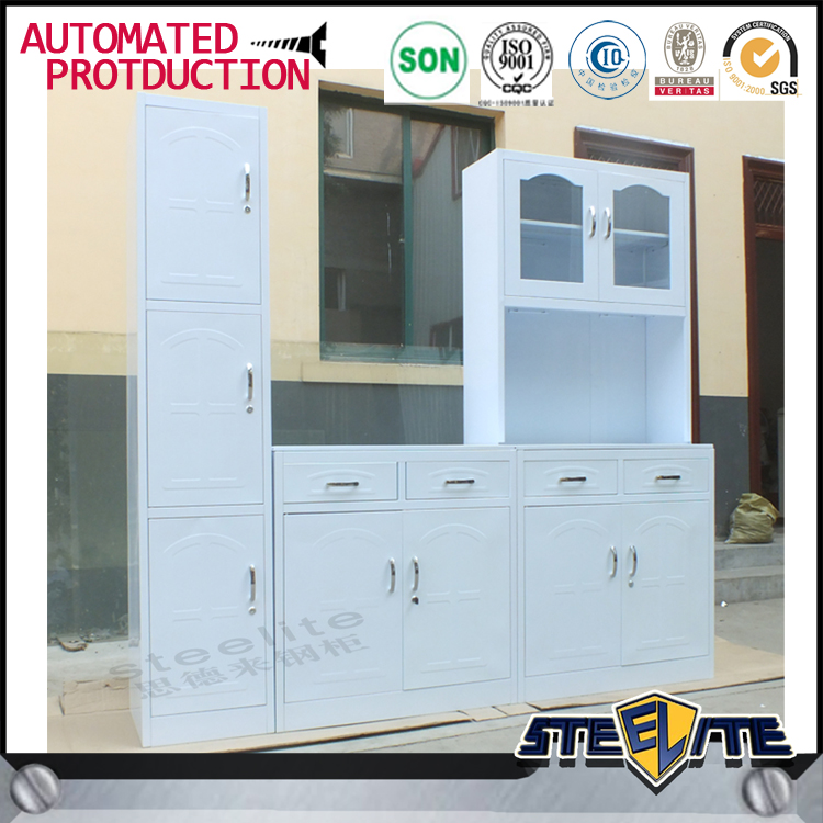 Selling Used Kitchen Cabinets: Home Used White Metal Kitchen Cabinets/ Kitchen Design