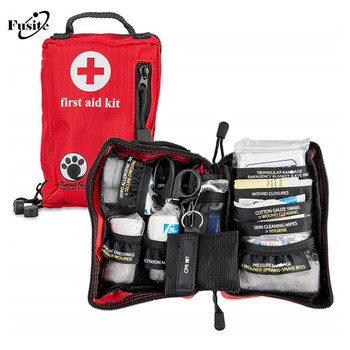 Pet First Aid Kit for Emergency for Hiking, Backpacking, Camping, Travel, Car & Cycling