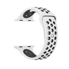 Спортивный силиконовый ремешок для apple watch, 44 мм, 40 мм, 42 мм, 38 мм, ремешок для наручных часов, ремешок для часов iwatch серии 5, 4, 3, 2, 1(Китай)