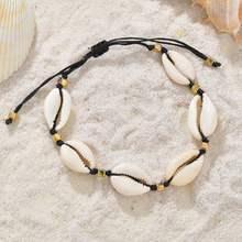 Huitan Летние регулируемые браслеты на цепочке, очаровательные браслеты на шнурках, подарочные аксессуары для девочек, ювелирные изделия для ...(Китай)