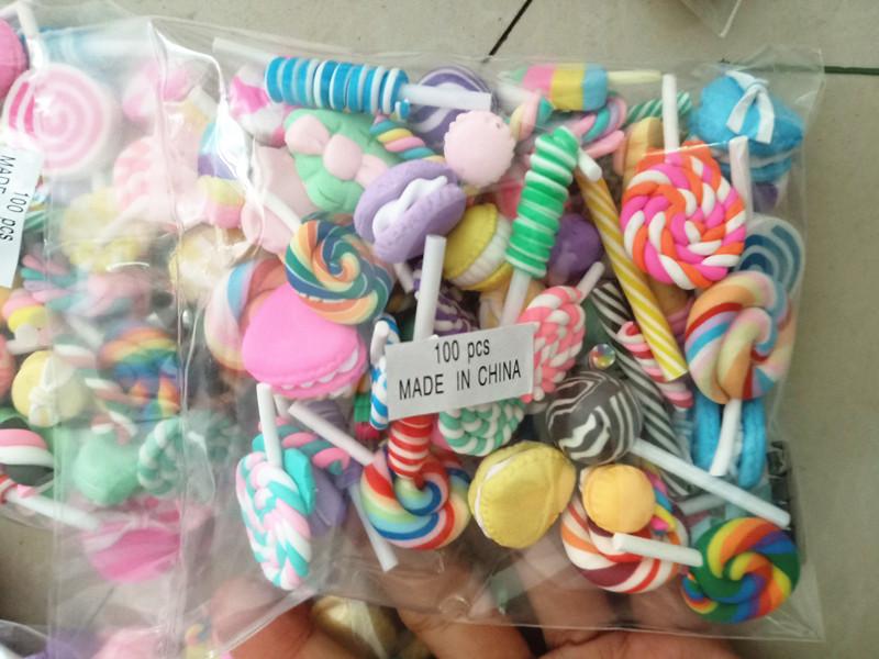100 шт./упак. сладкие прелестные бусины-талисманы для изготовления ювелирных изделий, разные бусины-талисманы
