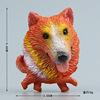 Orange An Eskimo dog