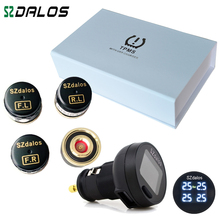 TP200 Upgraded version,2016 new style TPMS, Car Tire Pressure Monitoring System With Mini External Sensors