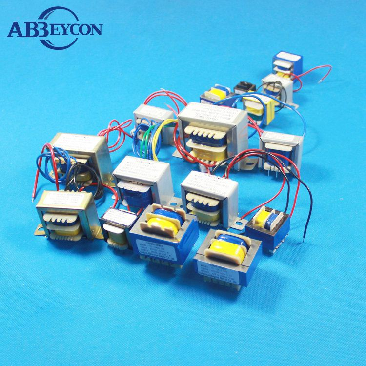 5VA 220V 3V 6V 9V 12V 15V 18V electric transformer EI, EE13 vertical ei transformer