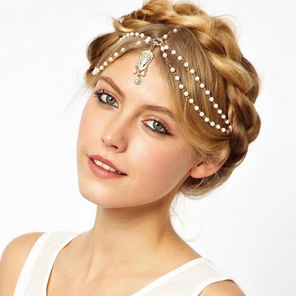 Bs Ha14 Spring 2015 Indian Style Hair Accessories Jewelry
