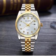 Люксовый Бренд Rolexable часы для пары модные женские водонепроницаемые кварцевые часы бизнес мужские Студенческие наручные часы Relogio Masculino(Китай)